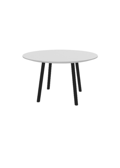 """Exchange Table with Round Fog - 30""""w"""