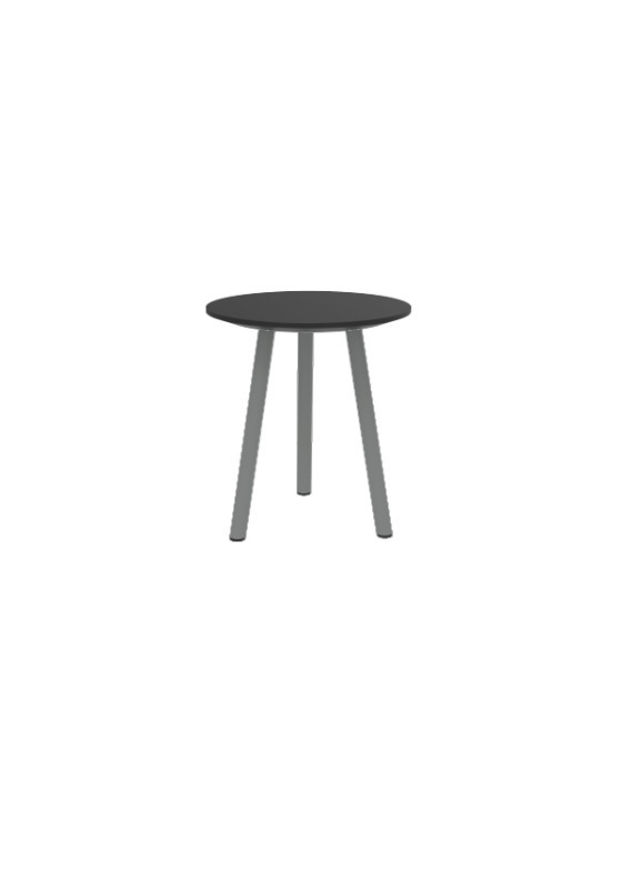 """Exchange Cocktail Table with Black - 16""""W"""