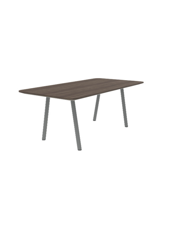 Exchange Coffee Table with Dark Wood