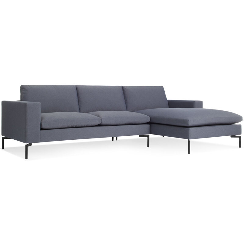 New Standard Sofa with Right Chaise