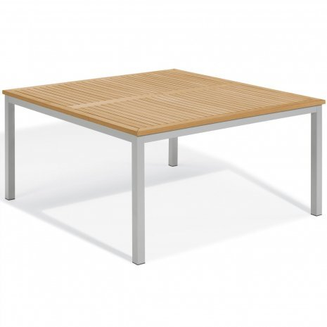 """Travira 60"""" Square Dining Table"""