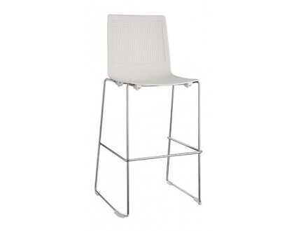 Blend Stool With Cantilever Base