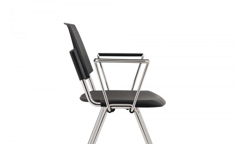 Dolly Chair, Plastic With Armrests