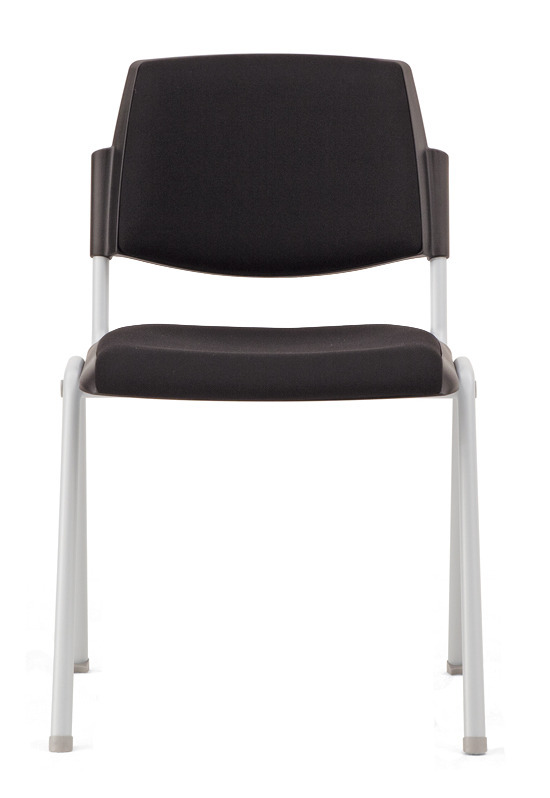 Dolly Chair, Plastic With Upholstered Seat