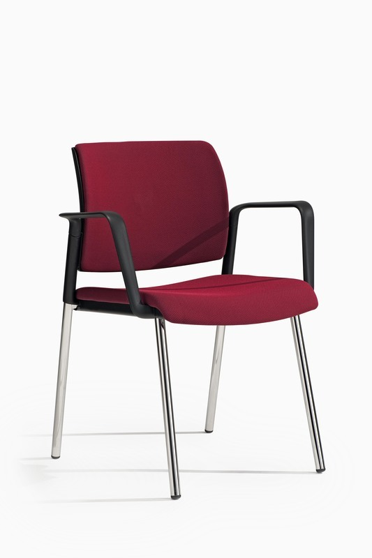 Lex Visitor Chair 4 Legs with Armrest