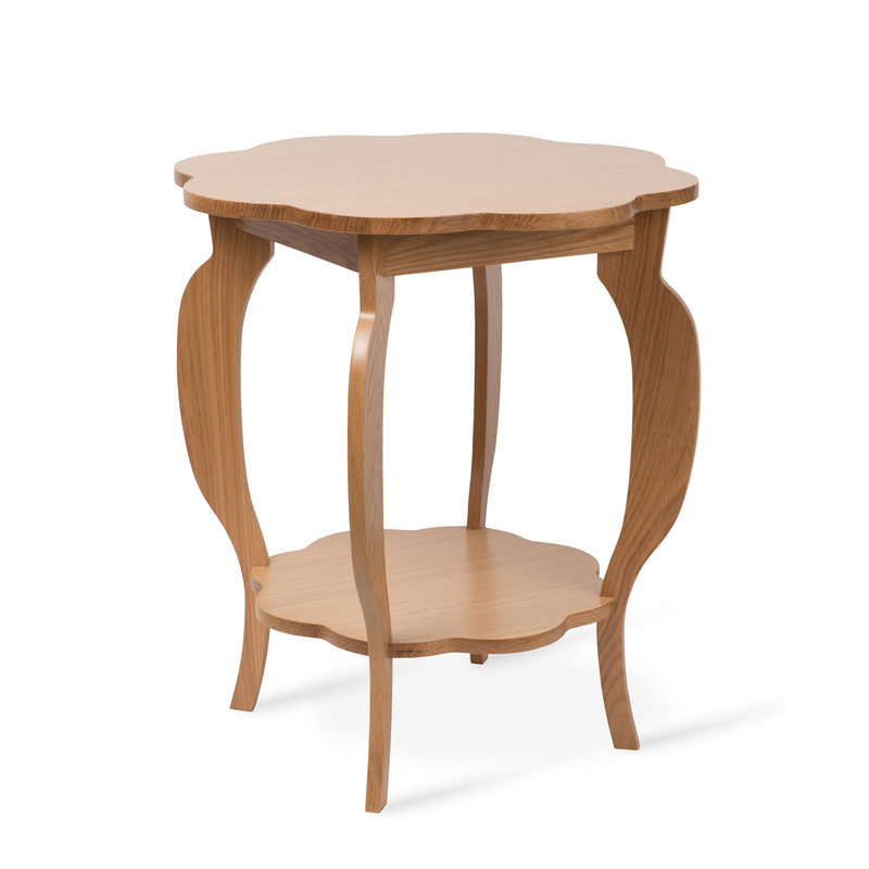 Scallop Side Table