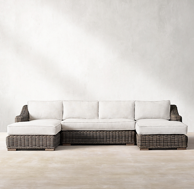 Provence Terra Luxe U-Chaise Sectional