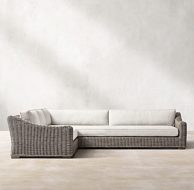 Provence Stone Classic Customizable Sectional