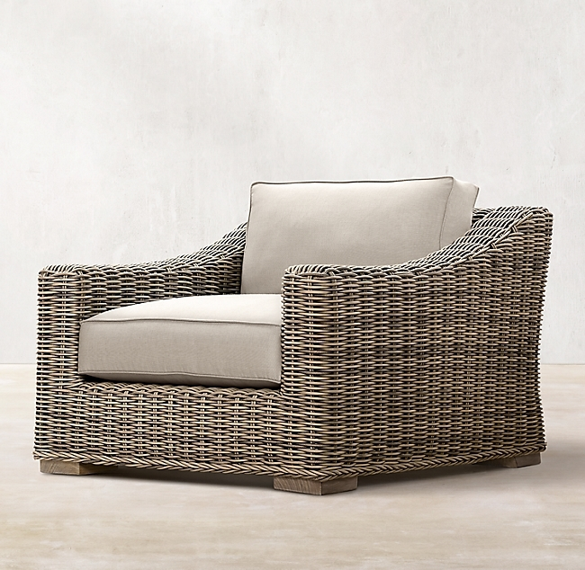 Provence Grey Classic Lounge Chair