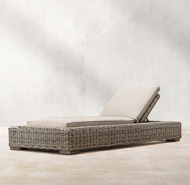Provence Grey Classic Chaise