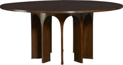 """82"""" Wood Top Arcade Dining Table"""
