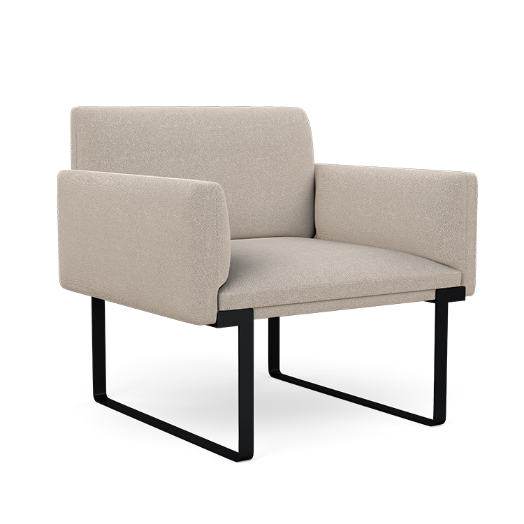 Cameo Single Seat with Dual Arms