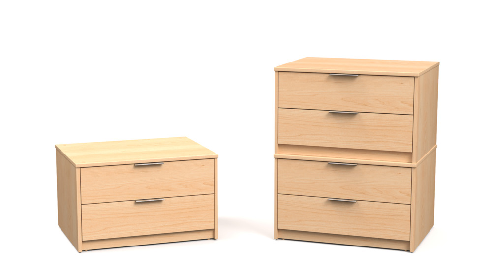 Suite Chest Stacker with Two Drawers