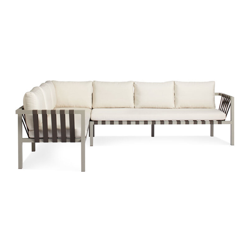 Jibe Outdoor XL Sectional Sofa - Left