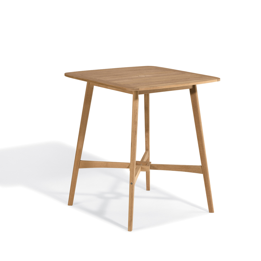 """Islay Wooden Square Bar Table - 36"""""""