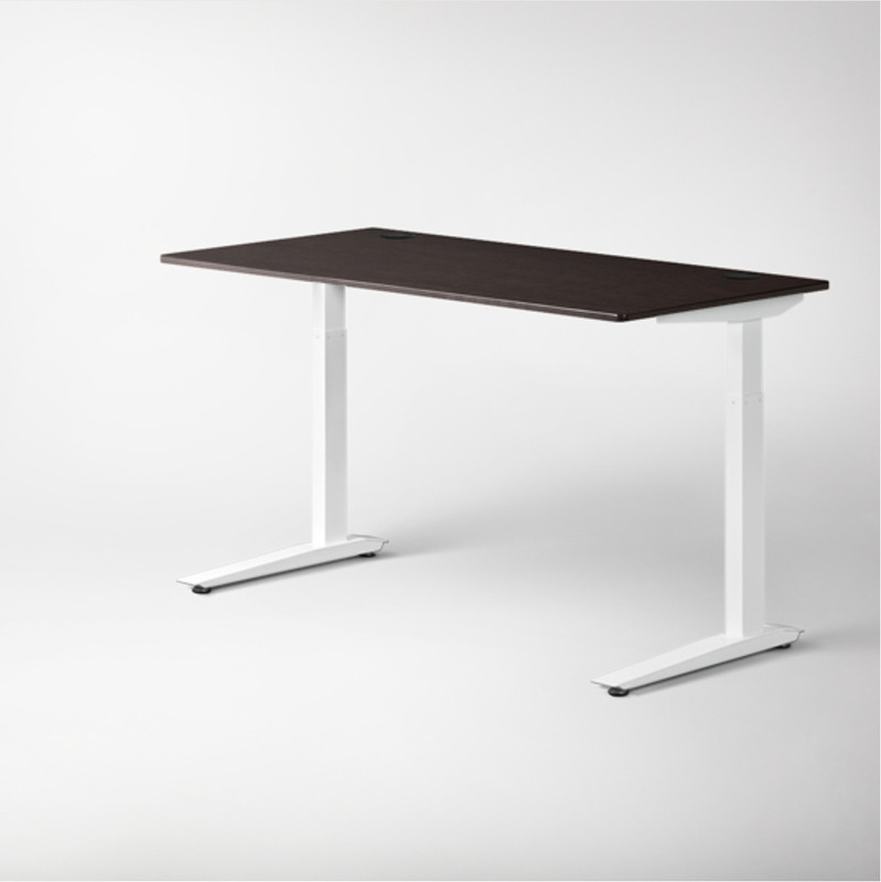 """Jarvis Standing Desk, White Base - 48""""x 30"""""""