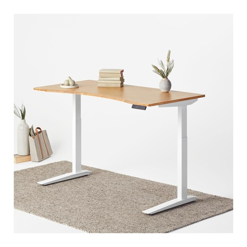 """Jarvis Standing Desk, White Base - 60""""x 30"""""""
