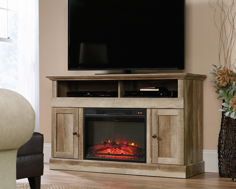 Cannery Bridge Entertainment/Fireplace Credenza