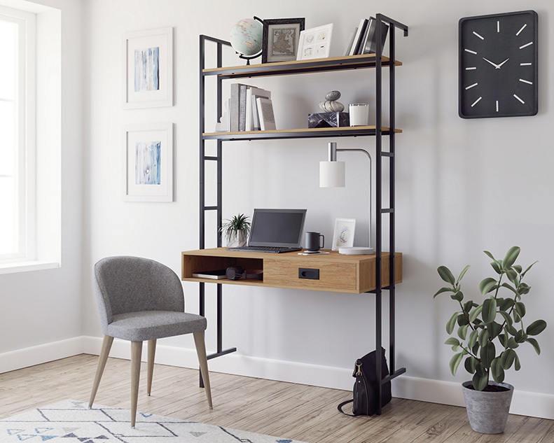 New Hyde Wall-mounted Desk