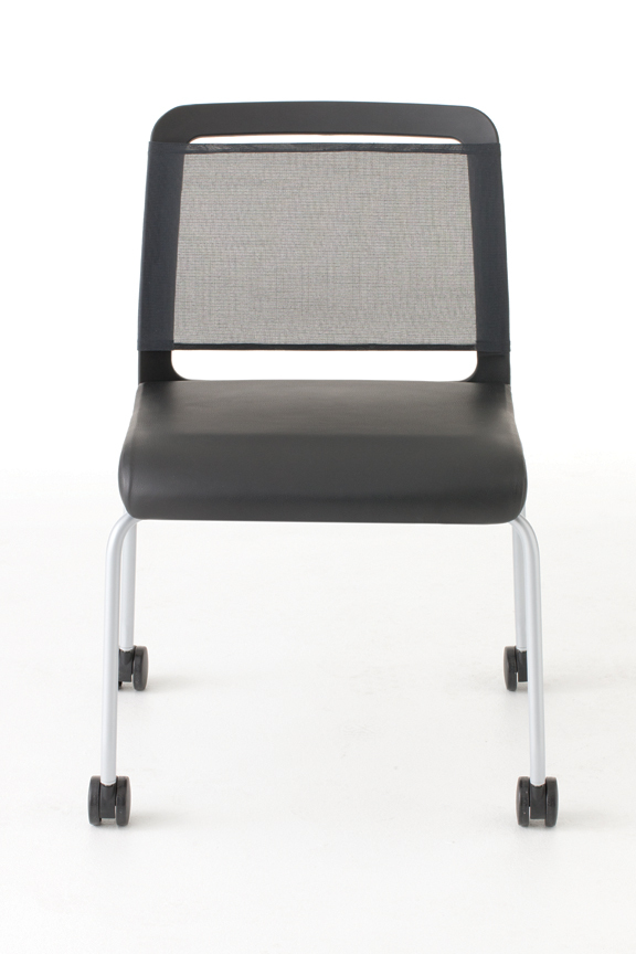 Nabu Side Chair Leg Base with Caster