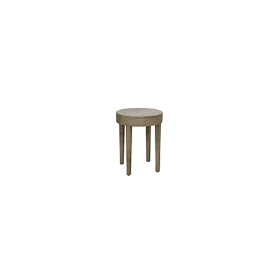 Side Table- Round Uptown Posh Collection