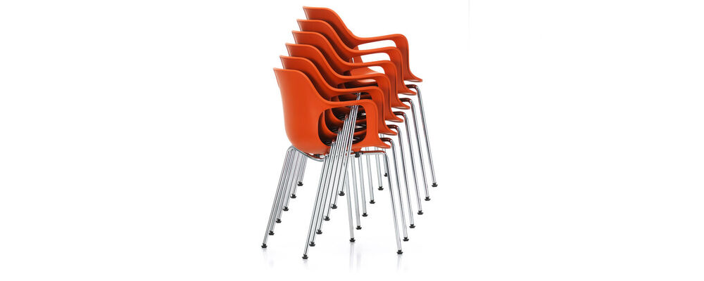 HAL Armchair Tube Stackable