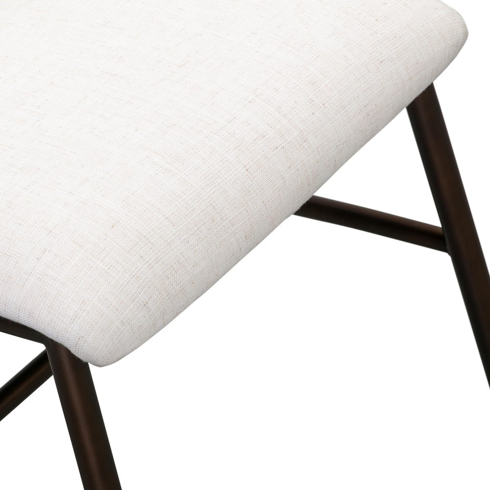 Bushwick Flax Upholstered Dining Chair (Set Of 2)