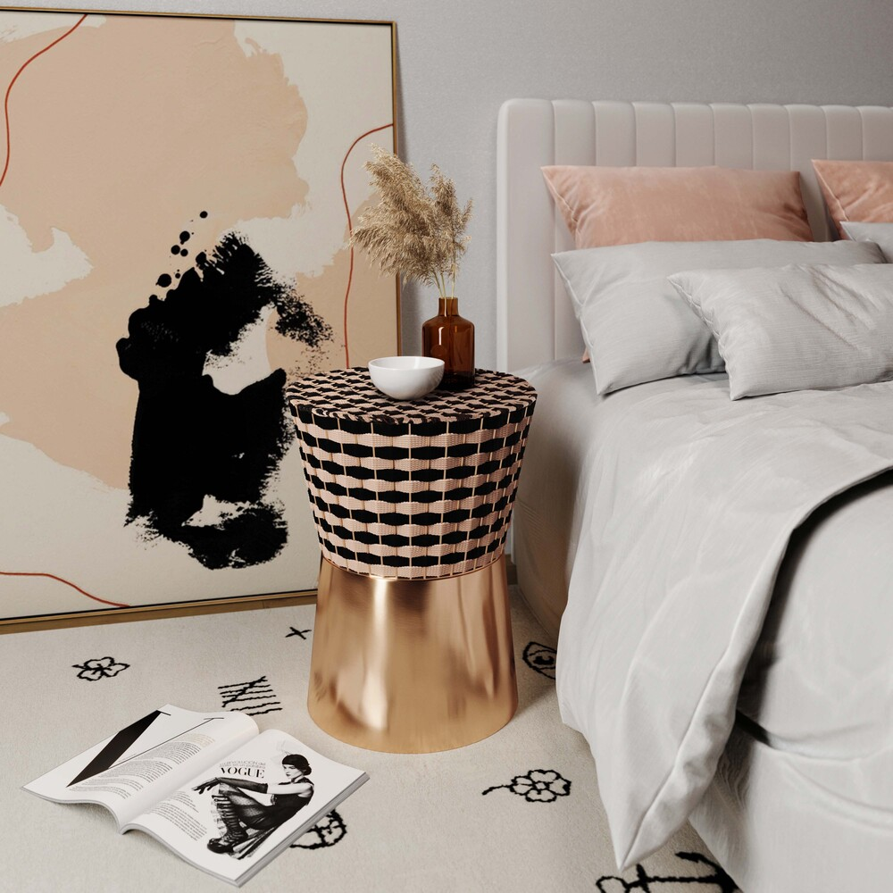 Madilyn Woven Side Table