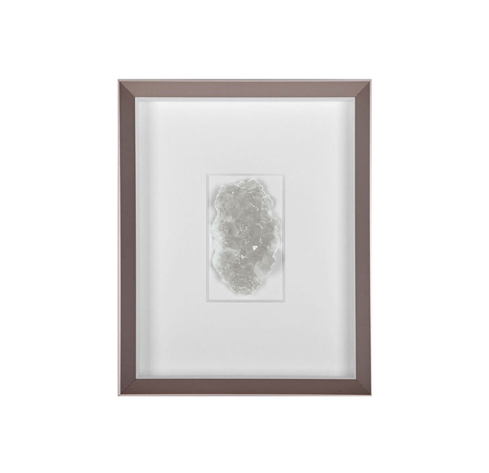 NATURAL MINERAL CLEAR WALL ART