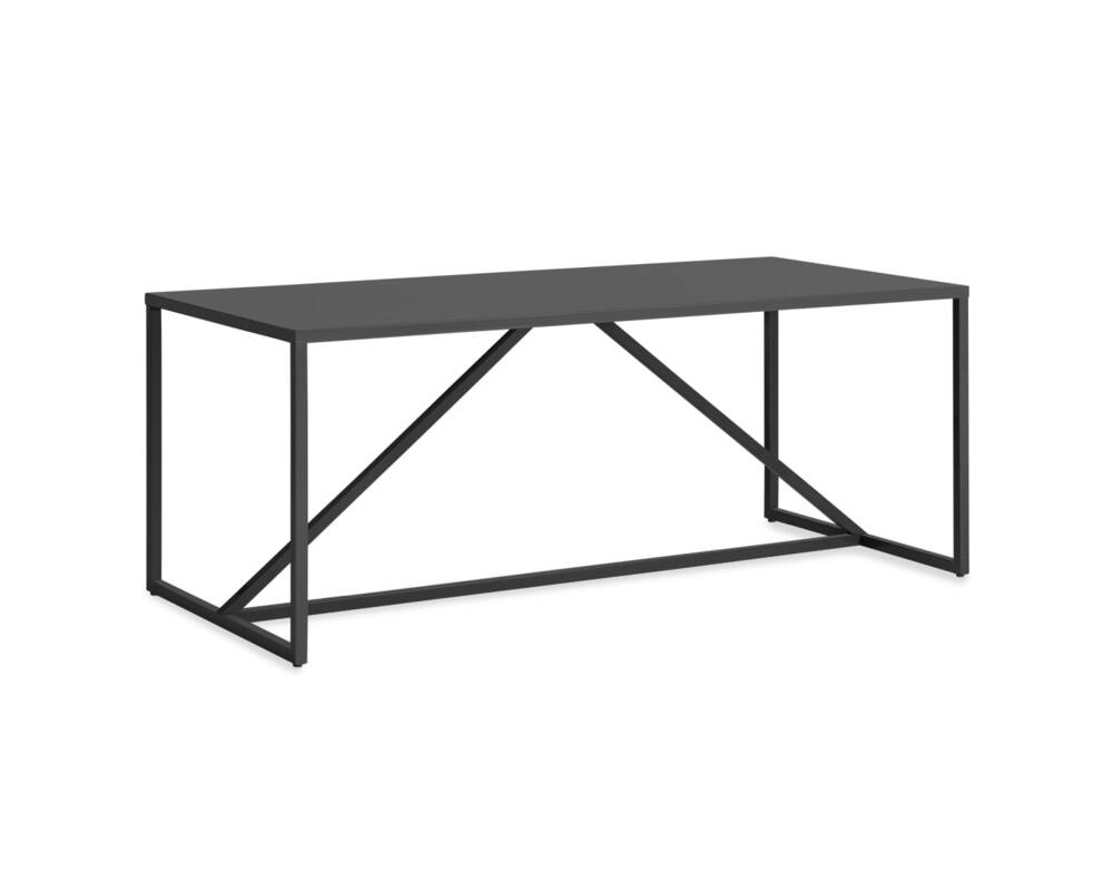 """Strut 75"""" Large Outdoor Table"""