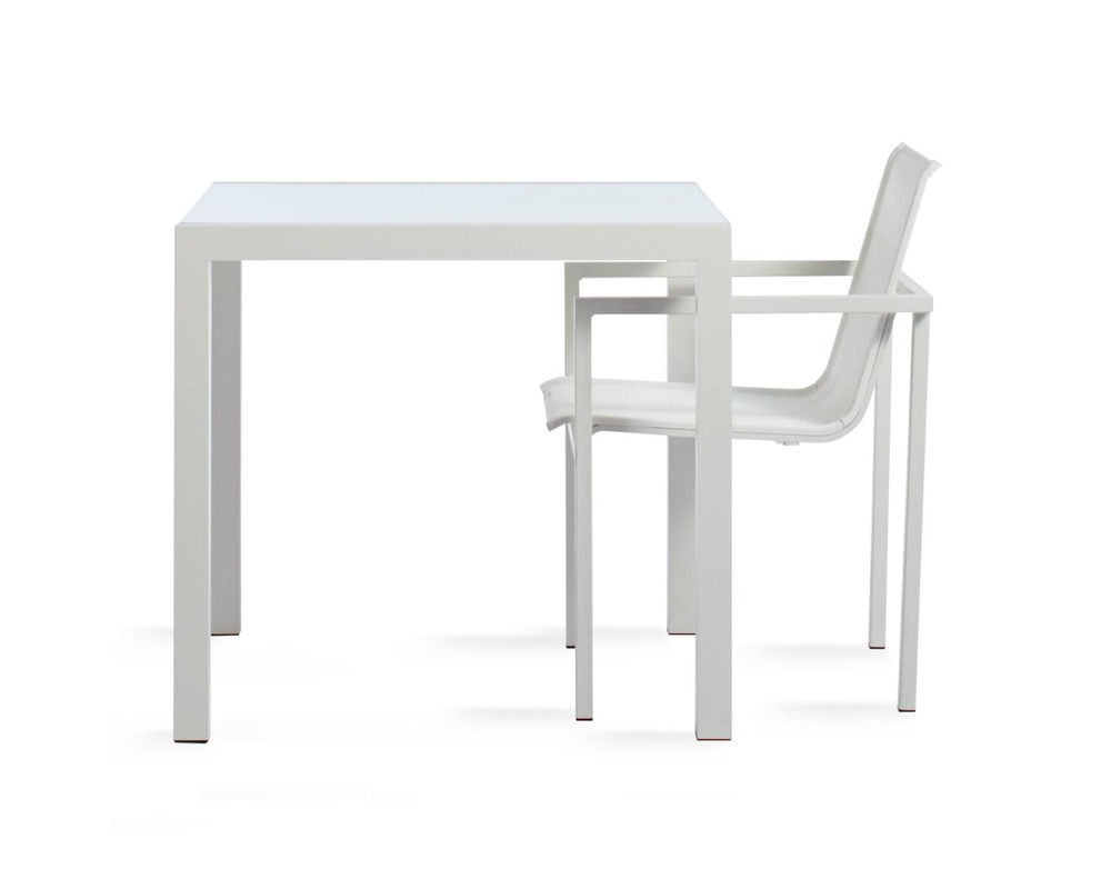 """Skiff 35"""" Square Outdoor Table"""