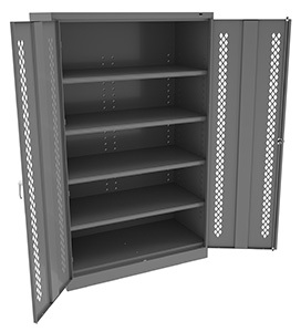 Jumbo Cabinet with Perforated Doors