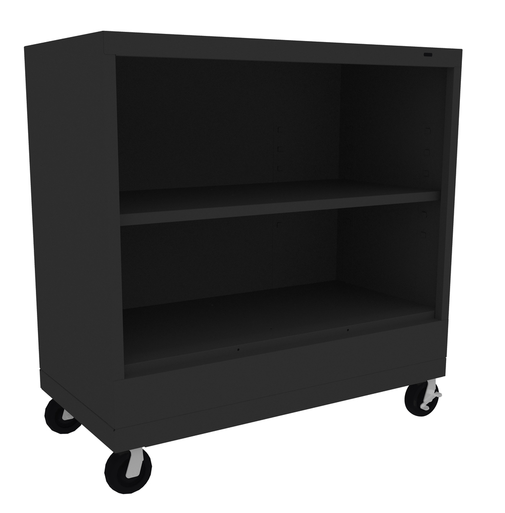 """18"""" Deep Mobile Welded Bookcase - 30"""" High"""