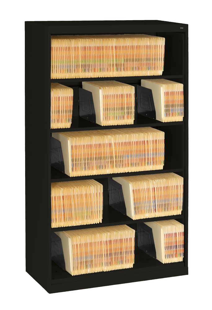 5-Tier Lateral File with Fixed Shelf