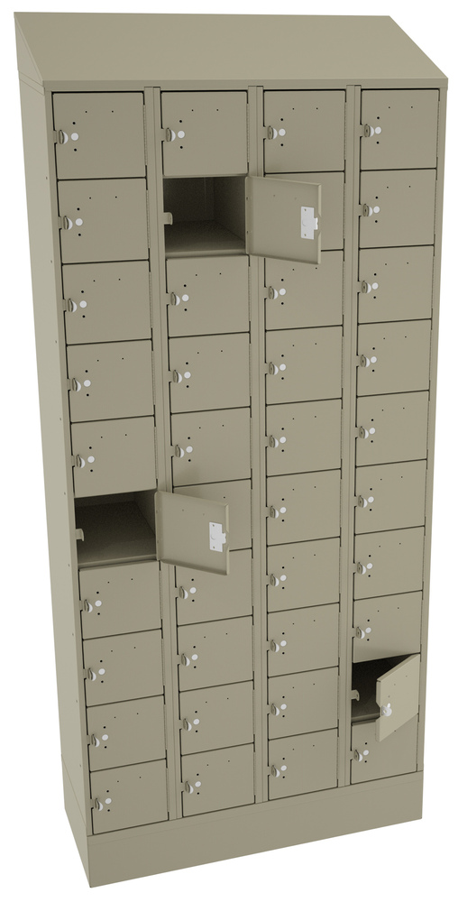 Cell Phone Locker - 40 Openings - CP10-091572-D