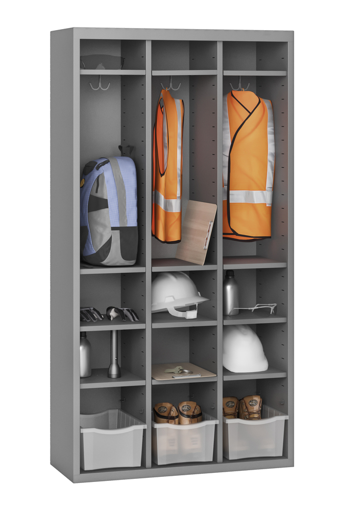 """66"""" High Cubby with 15 Openings - CC-66"""