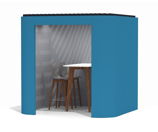 Oasis Soft Office Privacy Booth Carousel Image