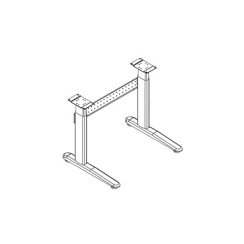 XR - Height-Adjustable Base for Surfaces - 503TB