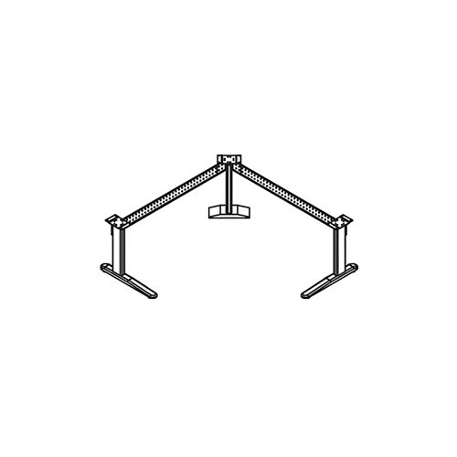 XR - Height-Adjustable Base, Right Hand Return - 506STB