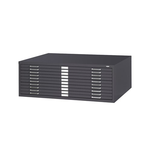 """5-Drawer Steel Flat File for 24"""" x 36"""" Documents"""