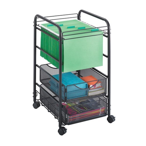 Onyx Mesh Open File with Drawers