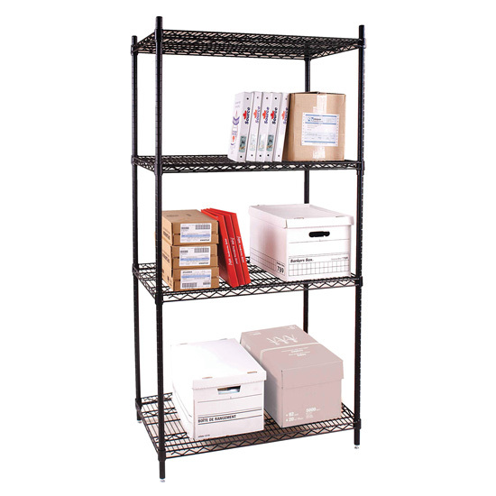 OfficeSource Heavy Duty Racks Wire Shelving Unit
