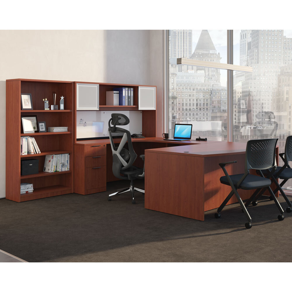 OfficeSource OS Laminate Collection Credenza Shell Carousel Image