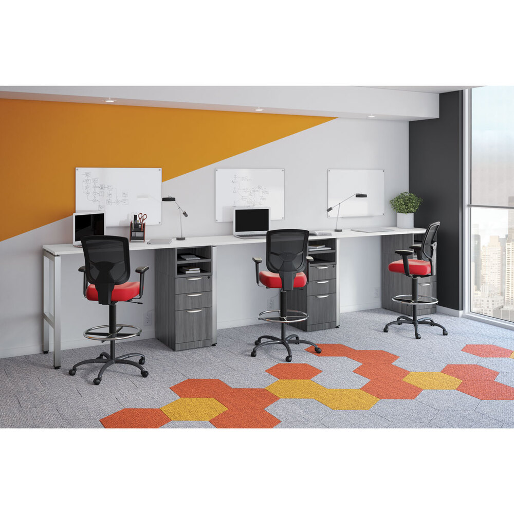 OfficeSource OS Laminate Collection 2 Slot Paper Tray Carousel Image