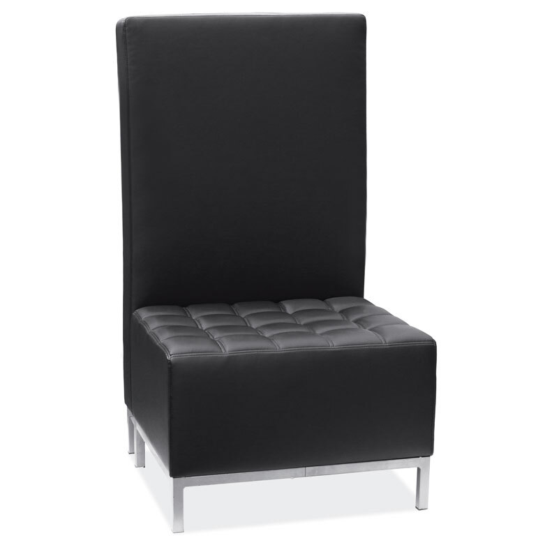 OfficeSource Millennial Collection Armless High Back Chair