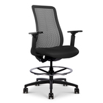 library-images-genflex-9a5-stool-black-framework-51A-35C-black-tpu-silvertex-carbon-seat-front45-view