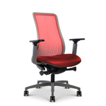 library-images-genflex-9d1-red-framework-51AG-67CSS-FT-red-tpu-silvertex-red-seat-front45-view