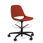 library-images-eclipse-9j3-light-task-stool-black-frame-cherry-red-poly-armless-black-base-black-casters-front45
