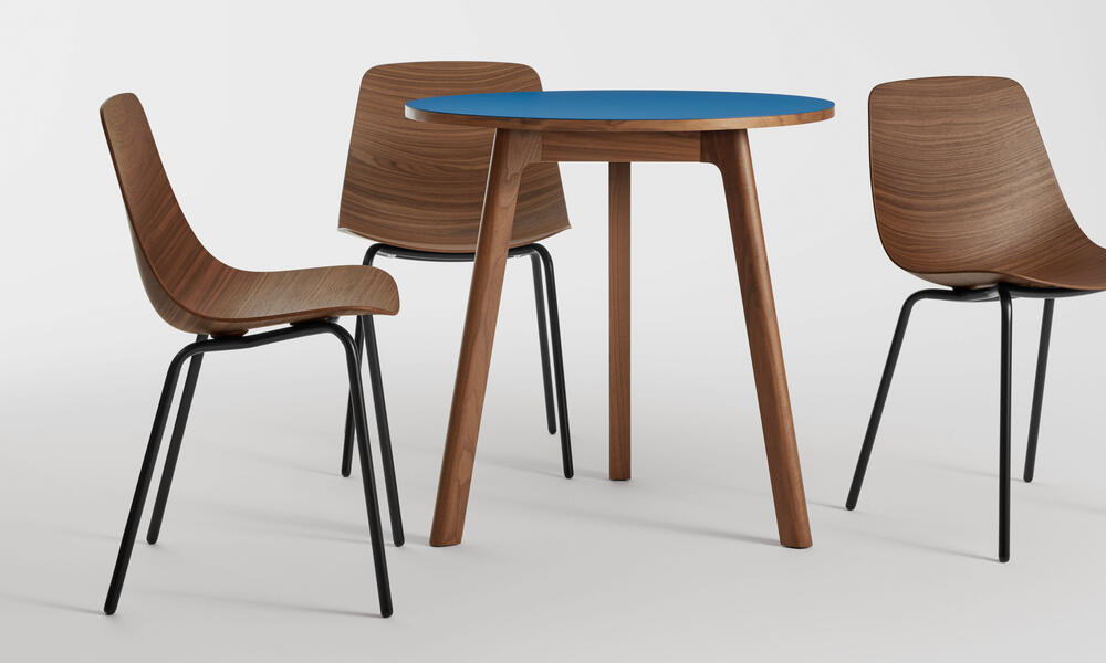 """Apt 30"""" Round Cafe Table"""