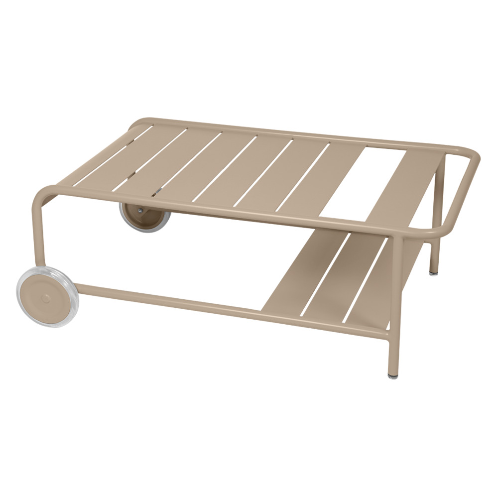 Luxembourg Low Table with Casters